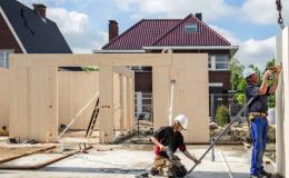 Aandacht voor 'houten woonwijk' PUUR Wonen in Cobouw, Giesbers