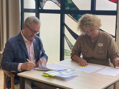 Opdracht start nieuwbouw Joachim en Anna getekend, Giesbers
