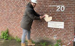 'Donorhart' als symbool voor nieuwe toekomst, Giesbers